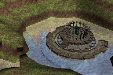 【3D創作】3DsMax開放式遊戲場景