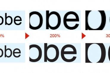 【設計觀念】向量圖 & 點陣圖